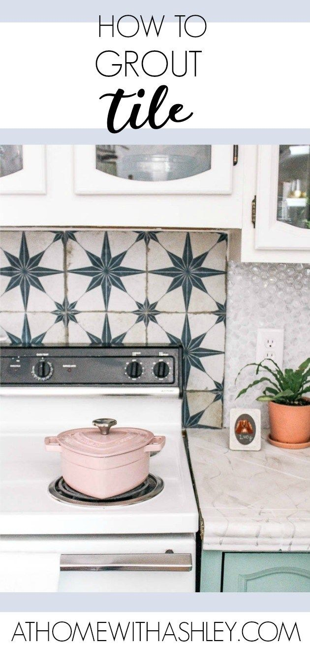 How to Grout Tile is part of Home Accessories Decor DIY Projects - how to grout tile on a backsplash  A video tutorial on how to tackle this DIY kitchen project  Tips to make it easy and do it right