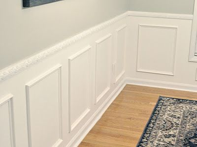 Stupendous Wainscoting Wall Above The Chair Rail Mindful Gray By Dailytribune Chair Design For Home Dailytribuneorg