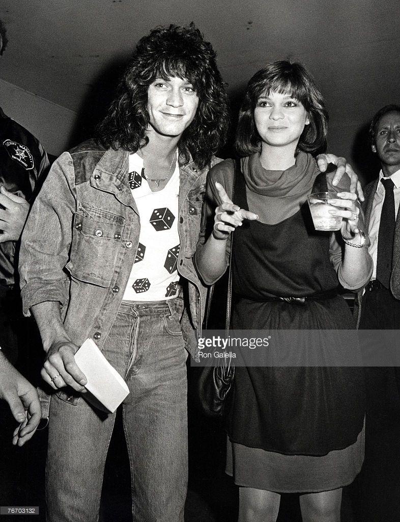 Eddie Van Halen And Valerie Bertinelli Eddie Van Halen Van Halen Valerie Bertinelli