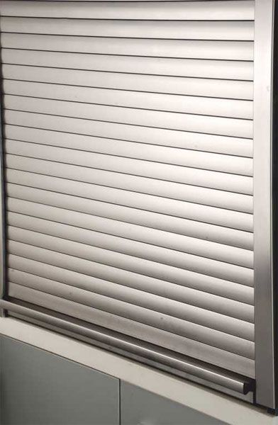Modular Kitchen Design Inox Decor Pvt Ltd New Delhi Rolling Shutter Facade House Silver Curtains