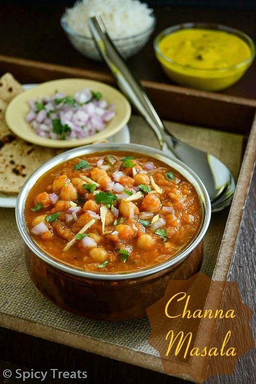 Restaurant Style Channa Masala Recipe...