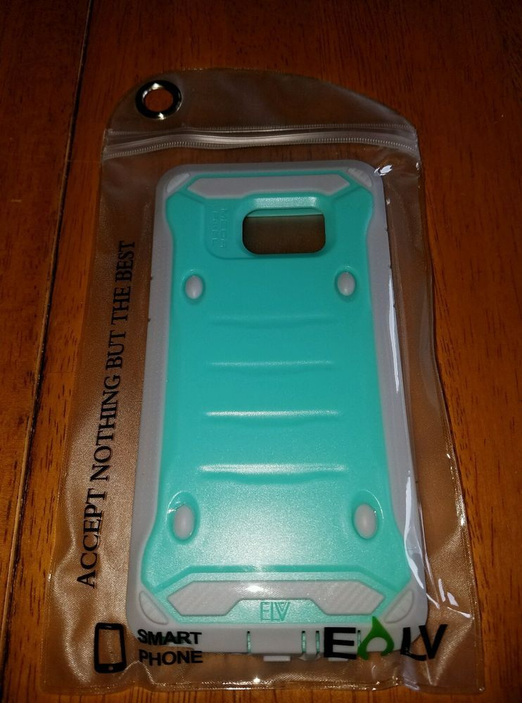 Galaxy Note 7 Case Soft Hard Teal Mint Green