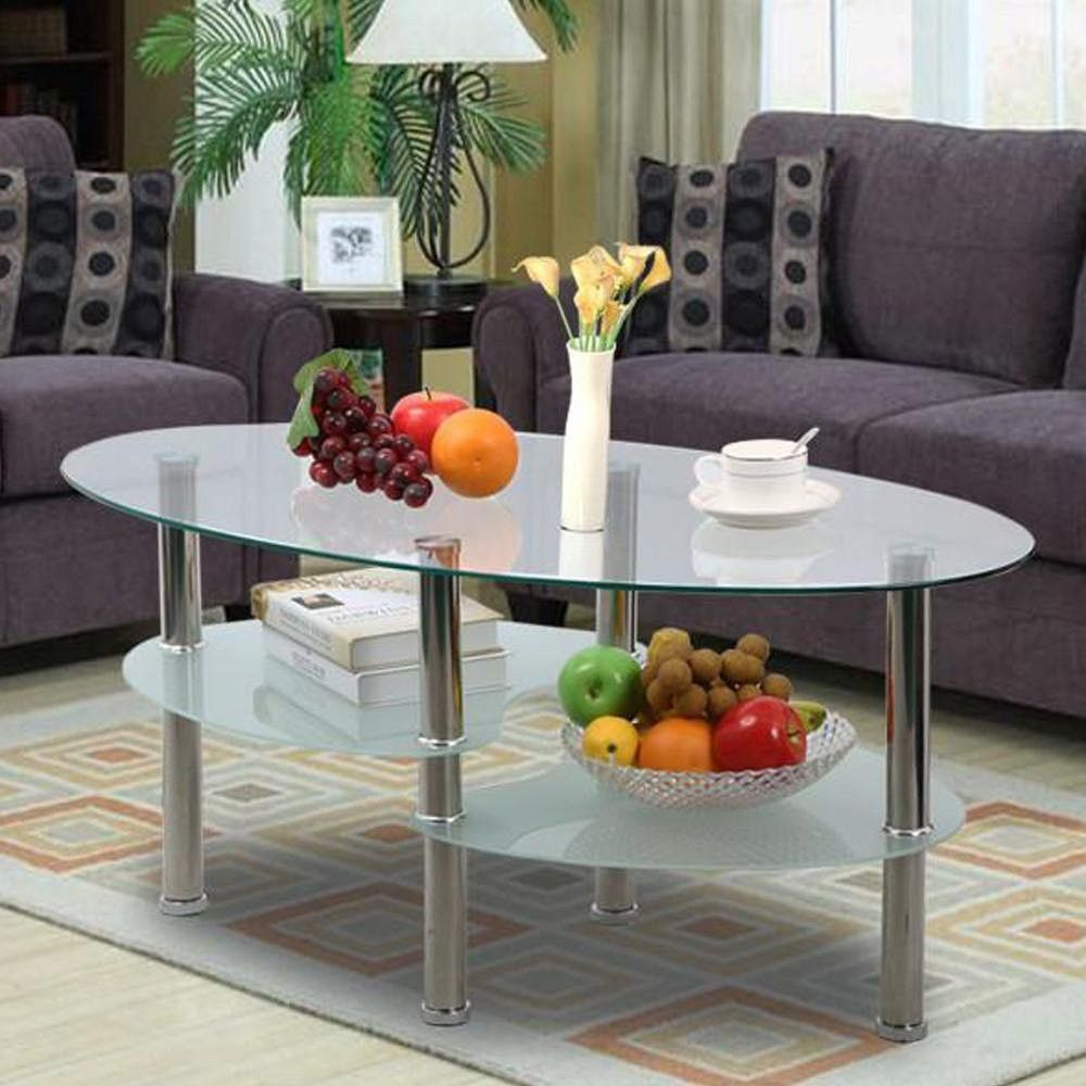 small oval coffee tables for small spaces