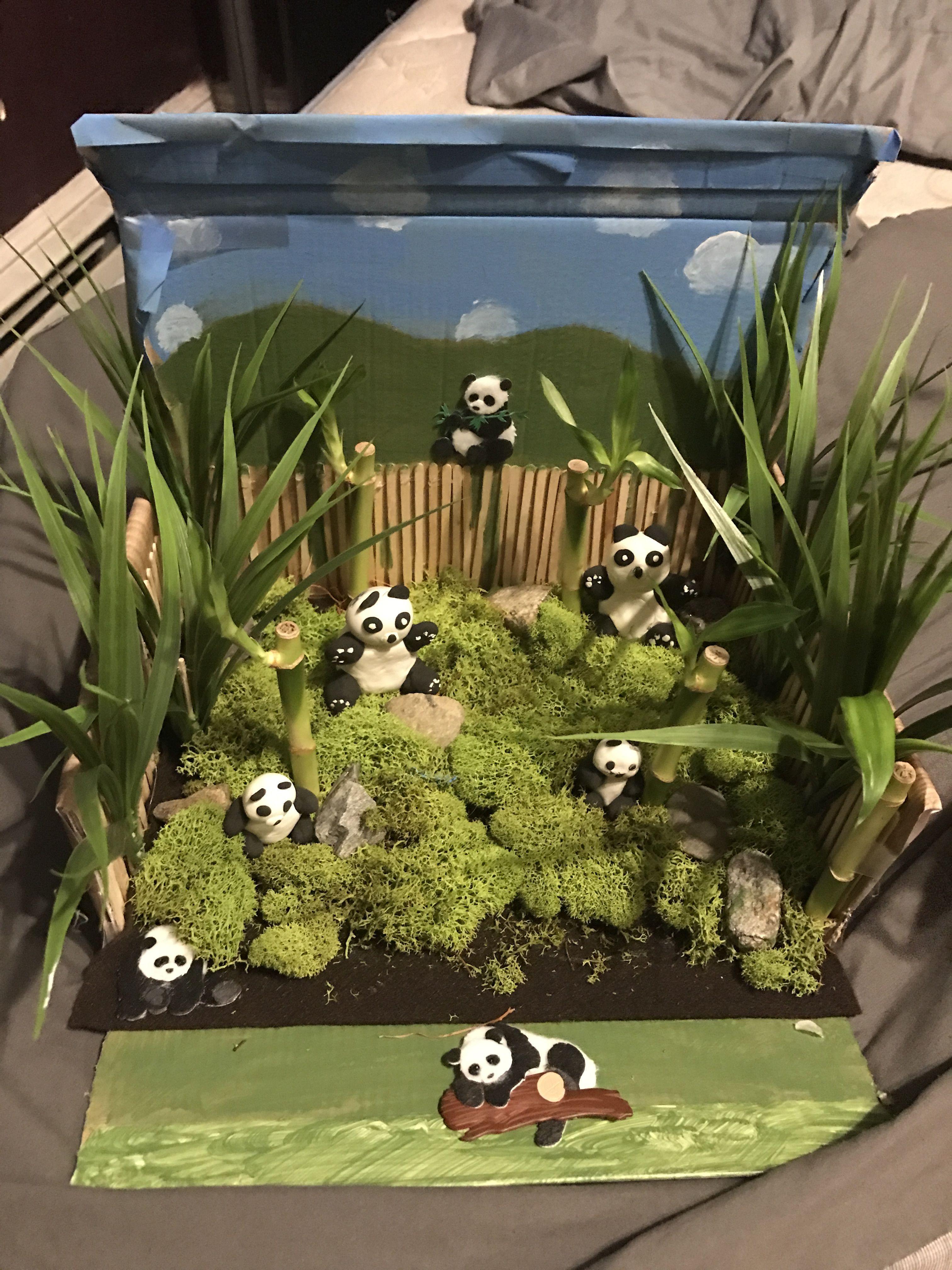 Bamboo Forest Diorama