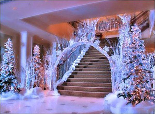 Winter Wonderland Christmas Theme.Winter Wonderland Entrance Snowscapes In 2019 Winter