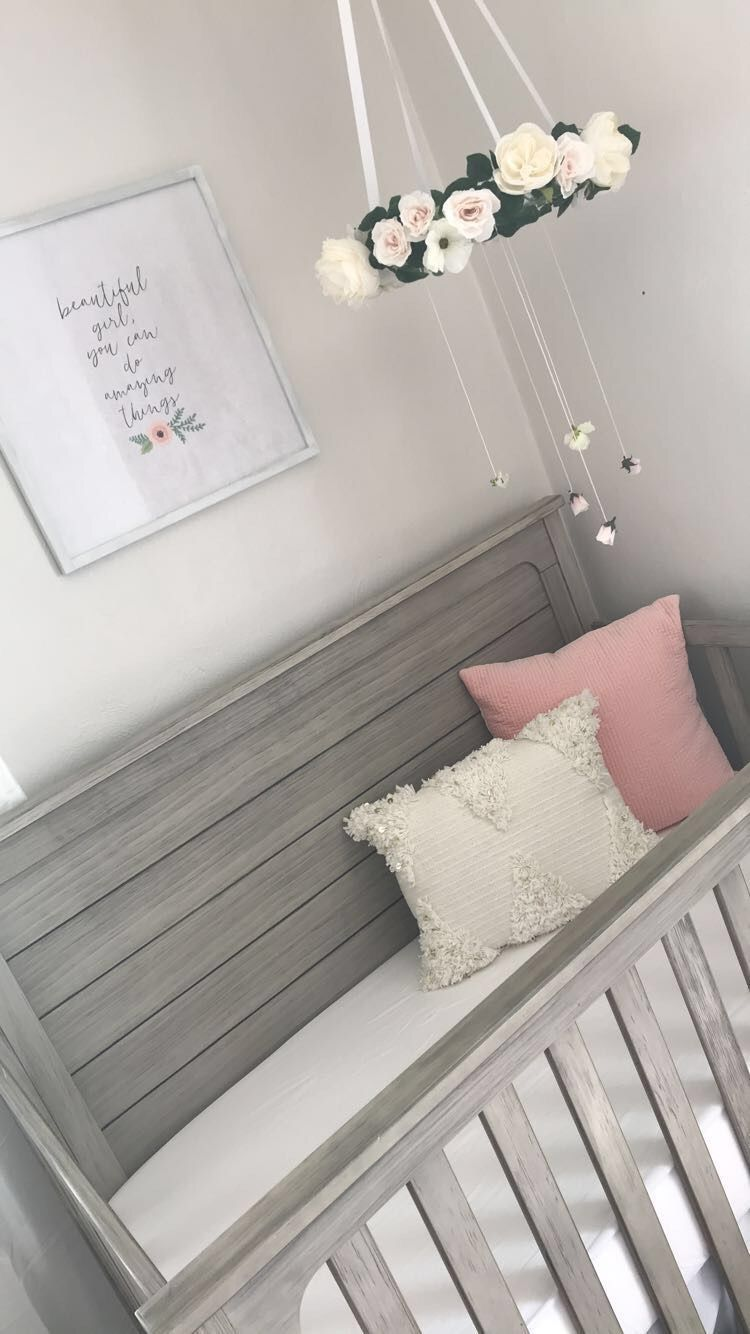 Pin by Jem Axford on Baby A  Nursery baby room, Baby girl room