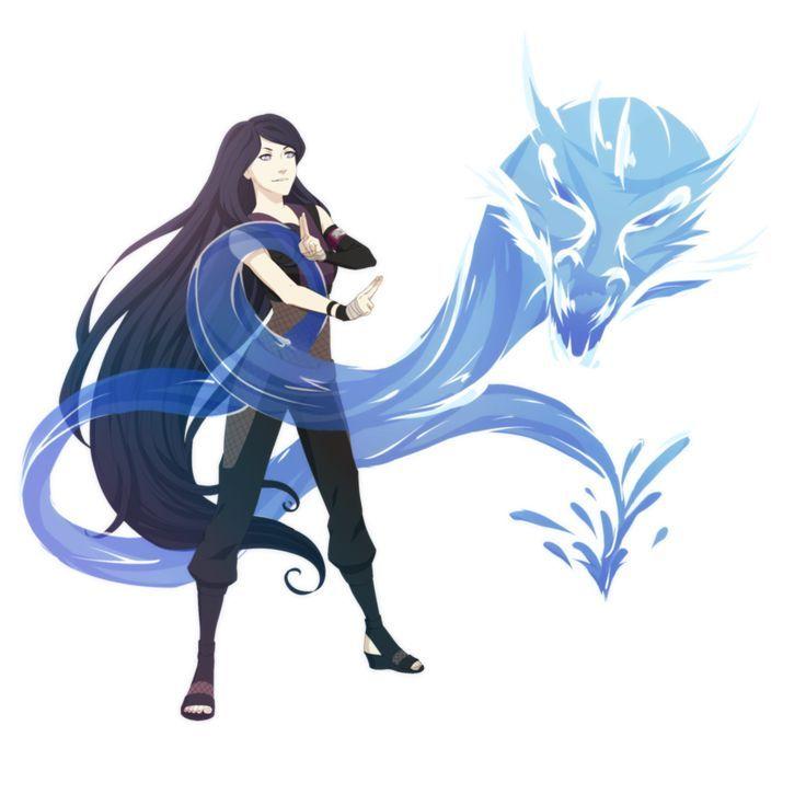 Image Result For Waterbending Oc Female Anime Naruto Naruto Manga Anime