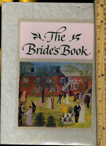 Art Filled Pictorial Brides Book Record Your Details Memories Unique Keepsake 0517070081 | eBay