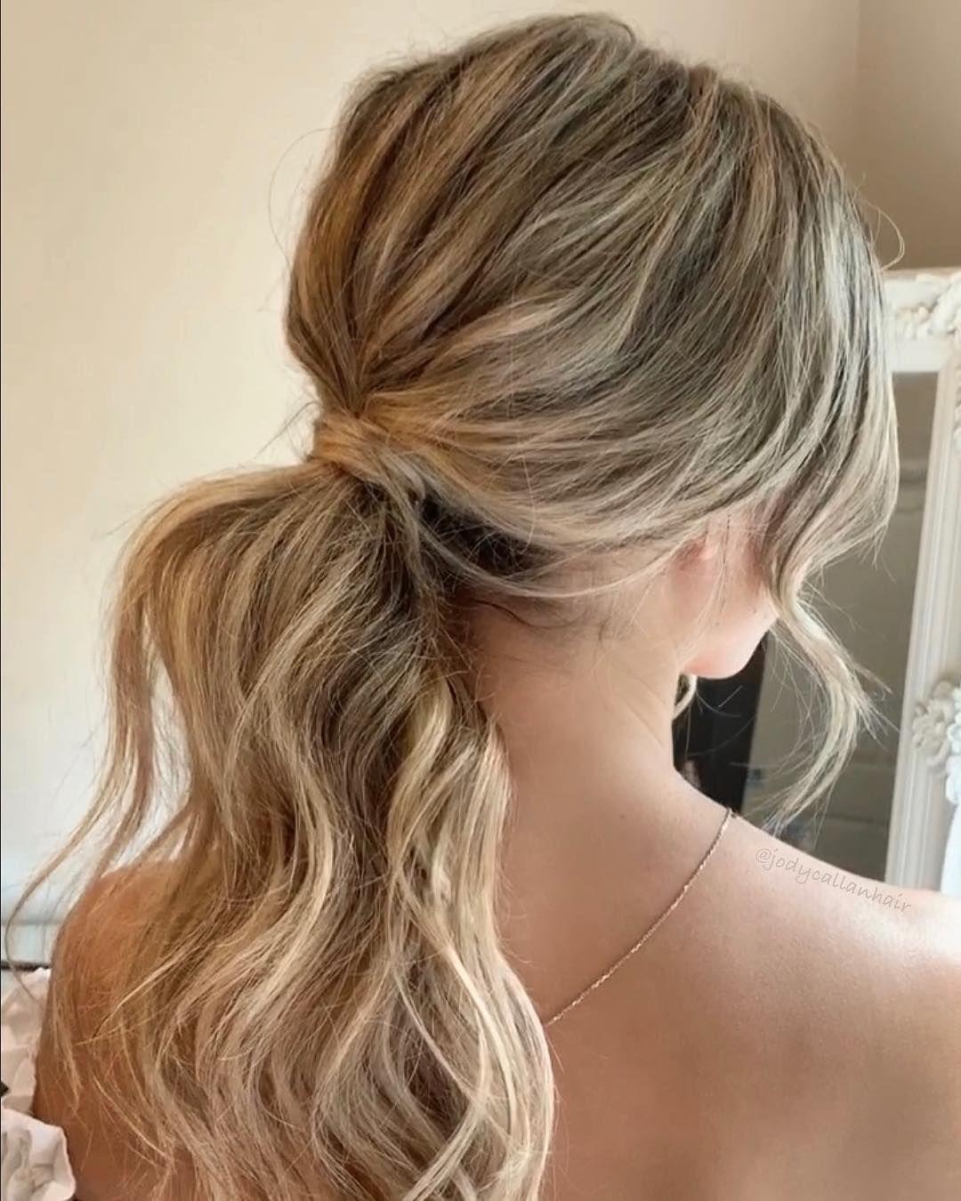 Soft Effortless Ponytail Hair Formal Hairstyles For Long Hair Prom Ponytail Hairstyles Ponytail Hairstyles