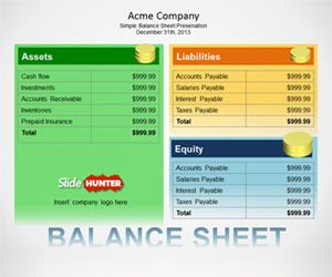 This Free Balance Sheet Powerpoint Template Contains Useful Slides