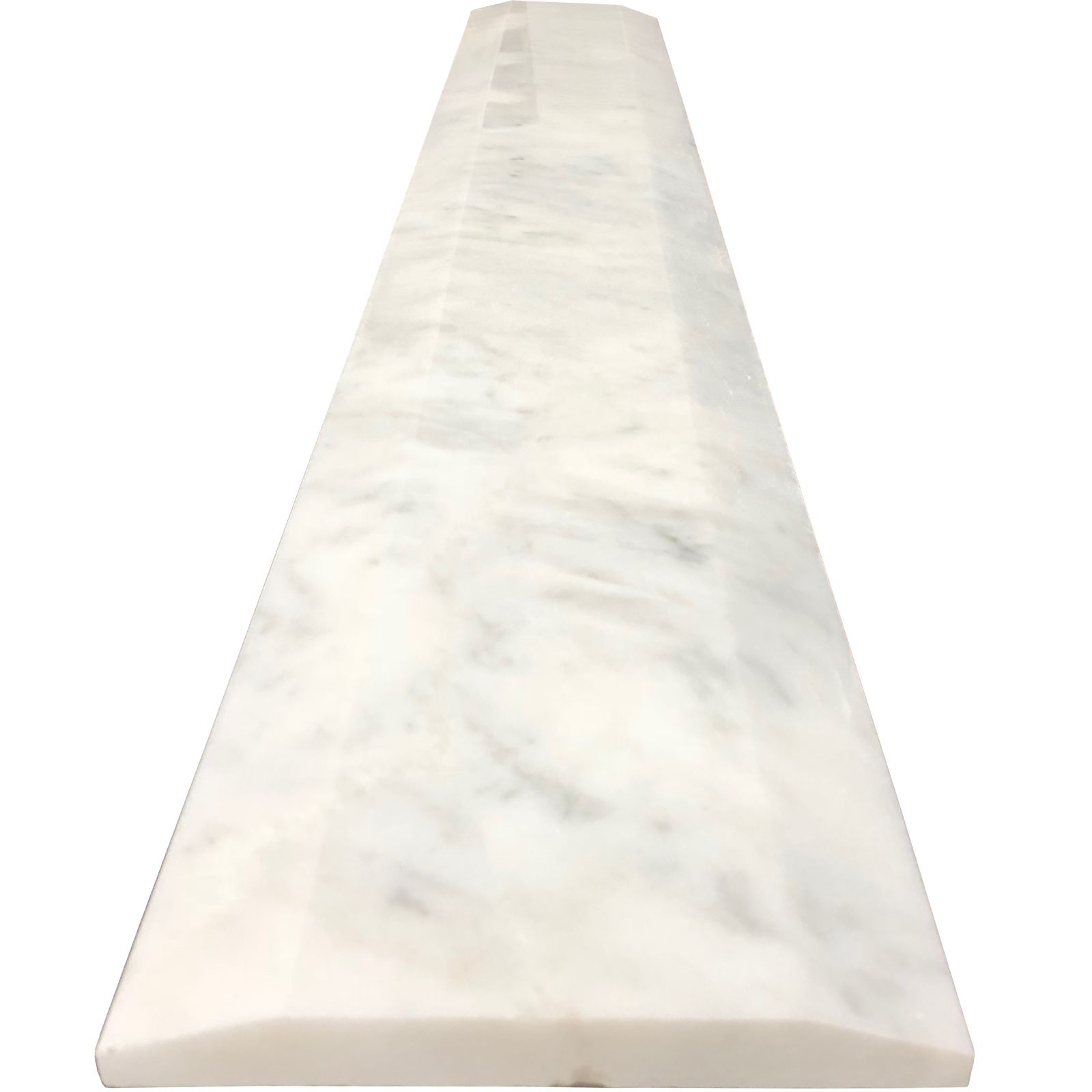 6 X 48 Double Hollywood Threshold Imperial Carrara Marble Marble Threshold Carrara Marble Shower Curb