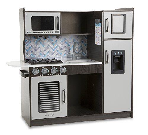 Melissa & Doug Wooden Chef\'s Pretend Play Toy Kitchen Wit... https ...