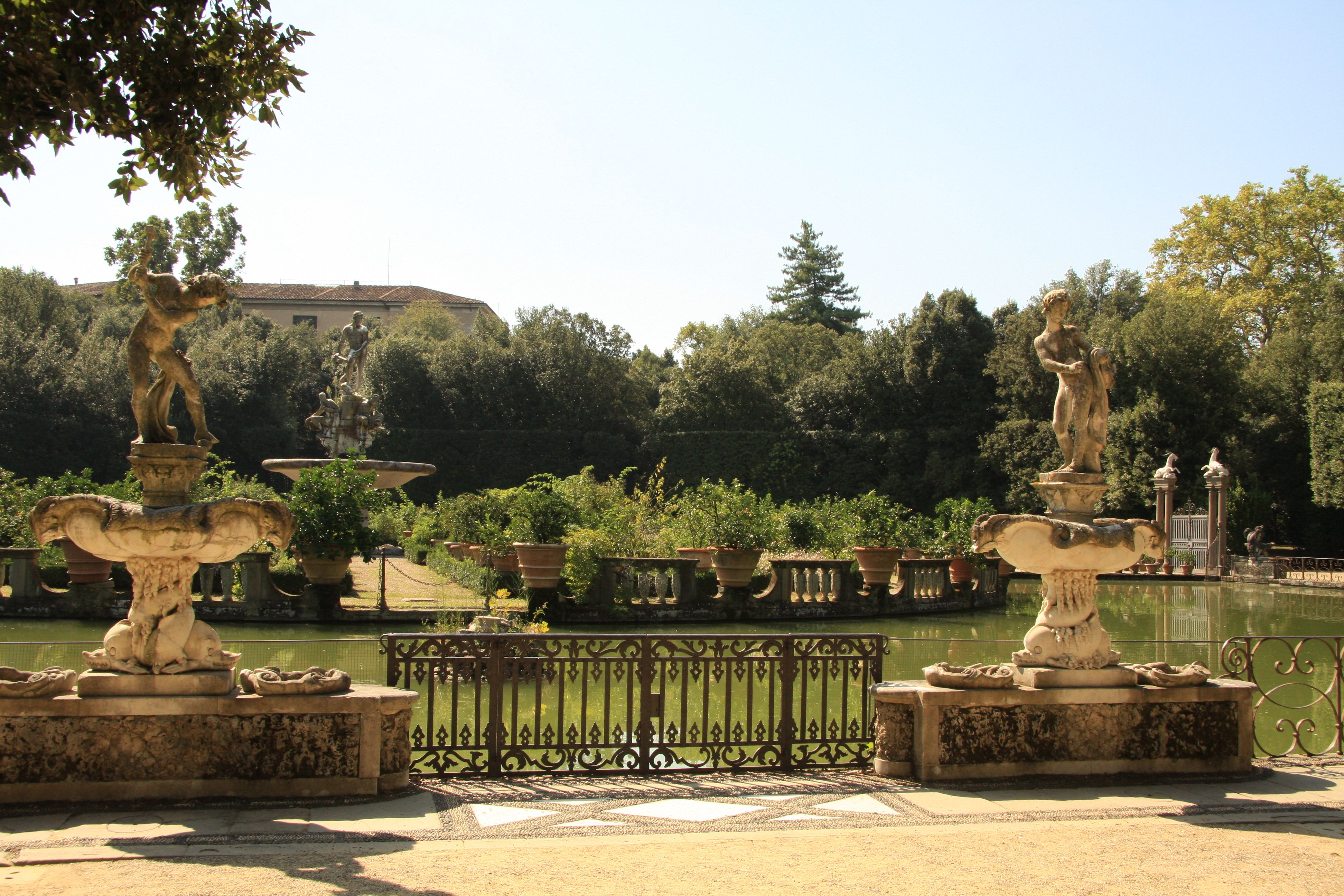 Au coeur des jardins de Boboli