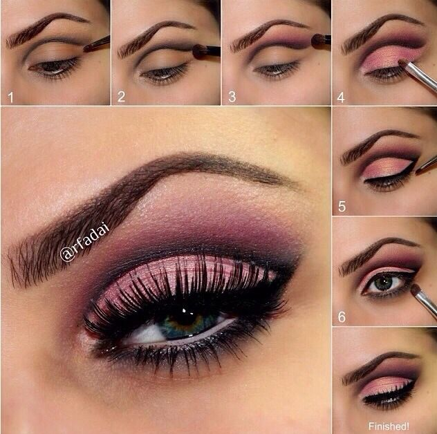 Step By Step Valentines Day Makeup