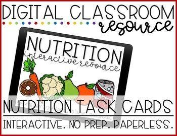 Nutrition Digital Activity FREEBIE