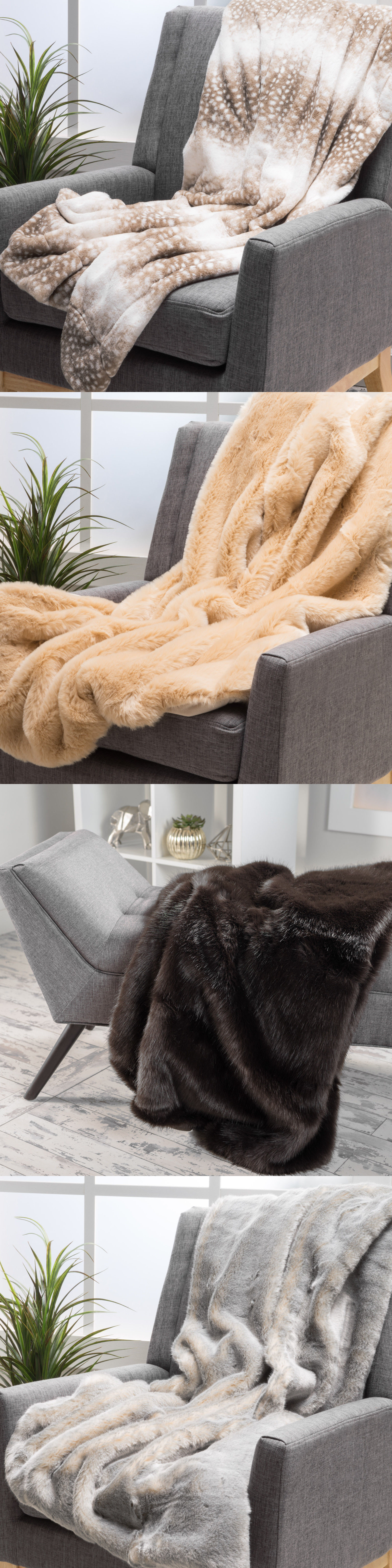 Blankets and Throws Tuscan Warm And fy Fabric Throw