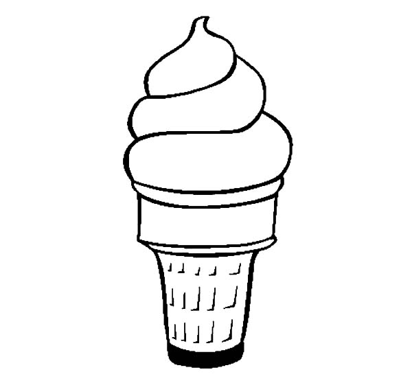 Yummy Ice Cream Cone Coloring Pages Bulk Color Ice Cream Coloring Pages Ice Cream Cone Drawing Ice Cream Illustration