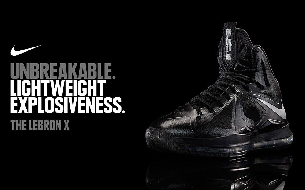 Nike LeBron X - Carbon - Official Images