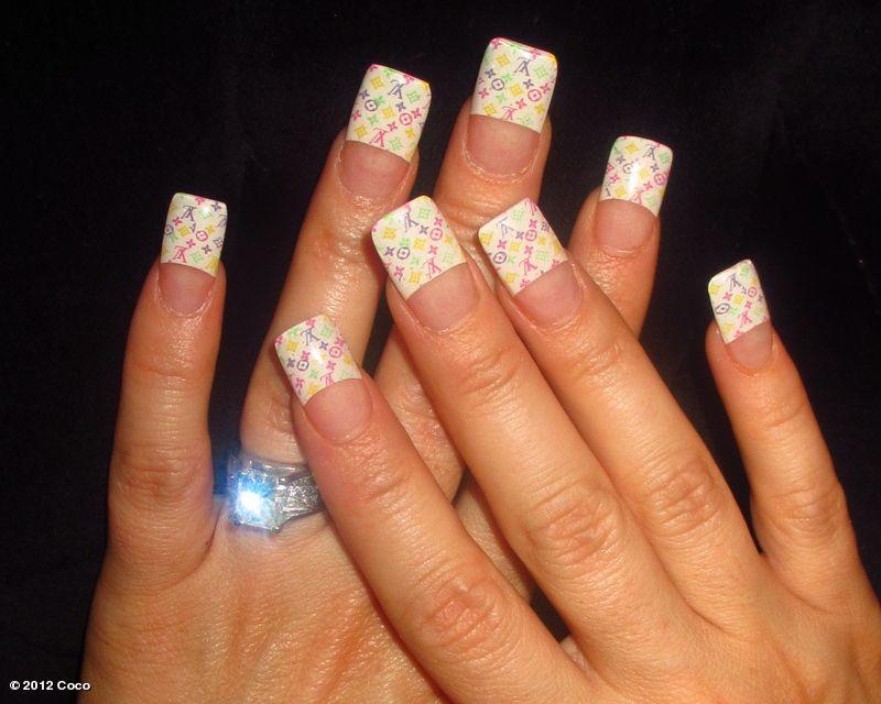 Coco\'s Louis Vuitton nails | NailArt | Pinterest | Louis vuitton ...