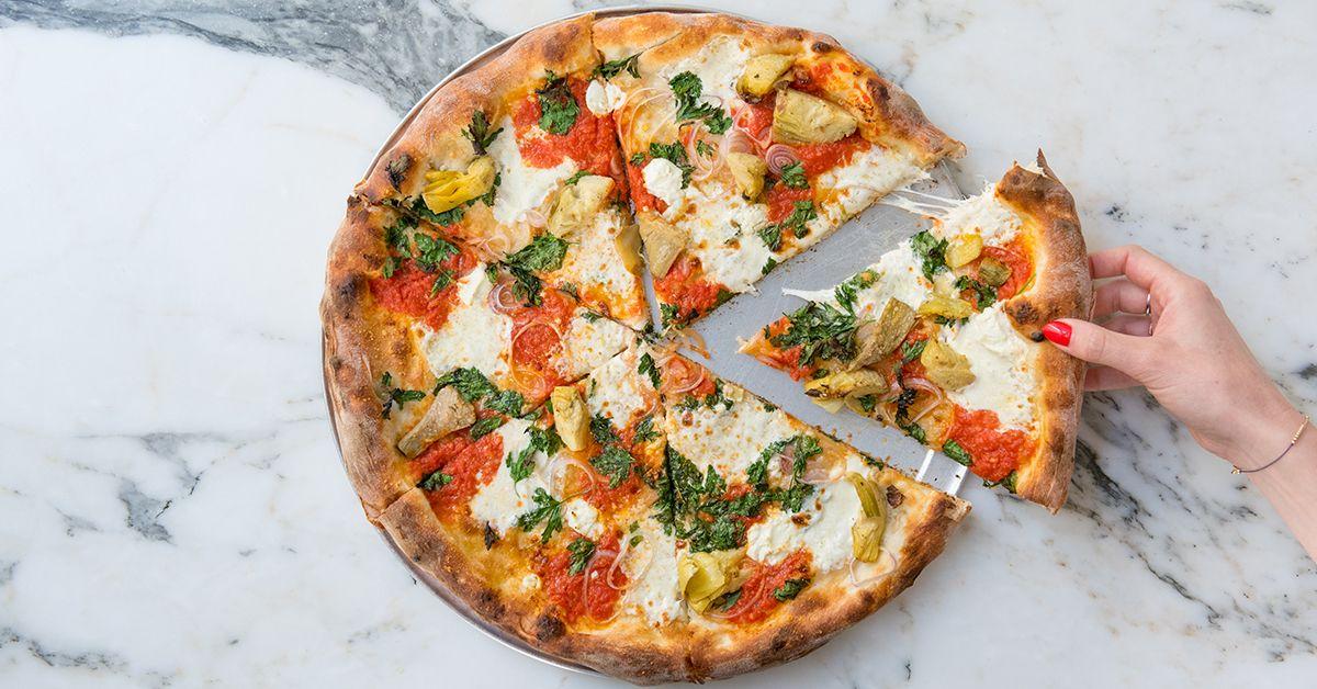 Artichoke Pizza Kim Fox Photography Artichoke pizza