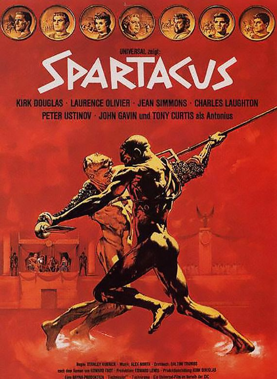 Spartacus  A3 Poster 5
