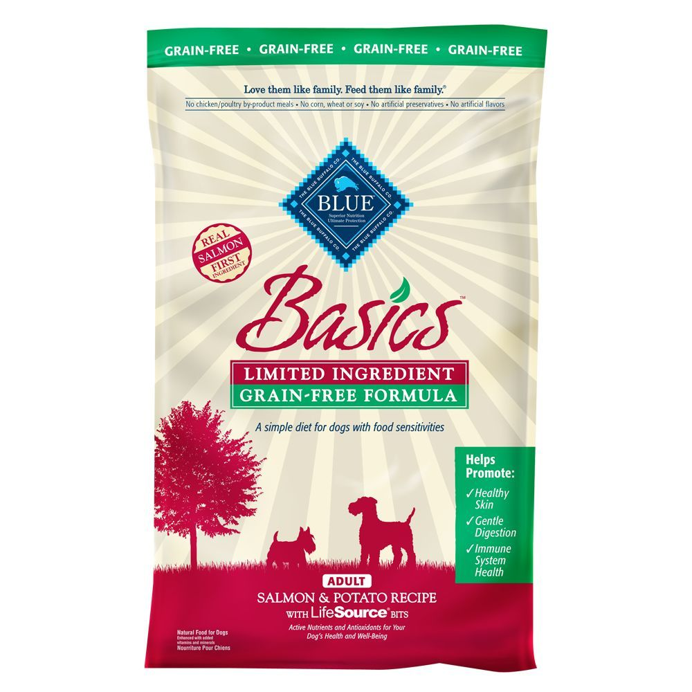 Blue buffalo basics adult dog food limited ingredient
