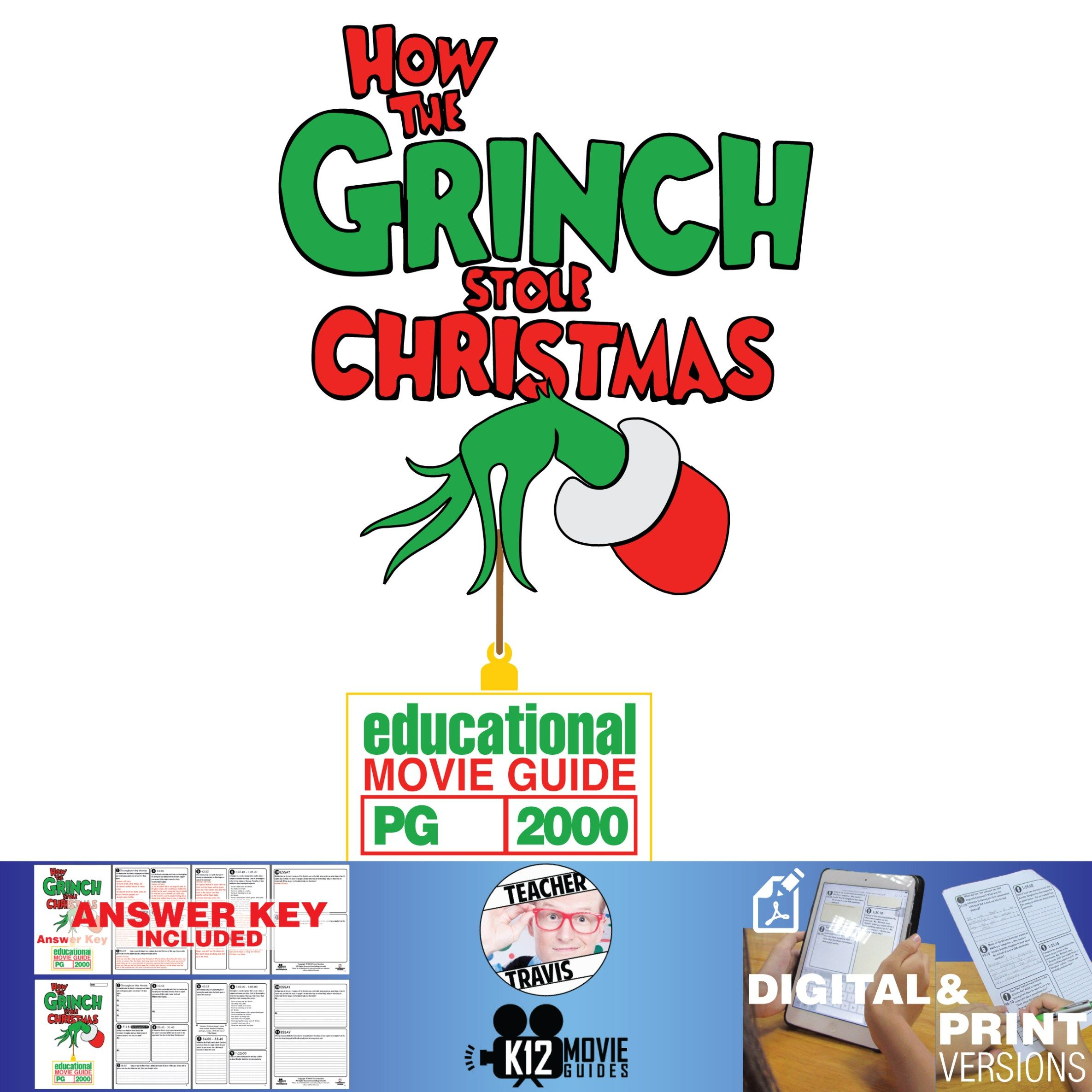 How The Grinch Stole Christmas Movie Guide With Images