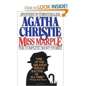 Amazon Com Miss Marple The Complete Short Stories 9780425094860 Agatha Chr Miss Marple Agatha Christie Agatha Christie Books