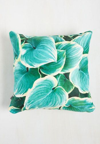 Got the Hosta for You Pillow, @ModCloth