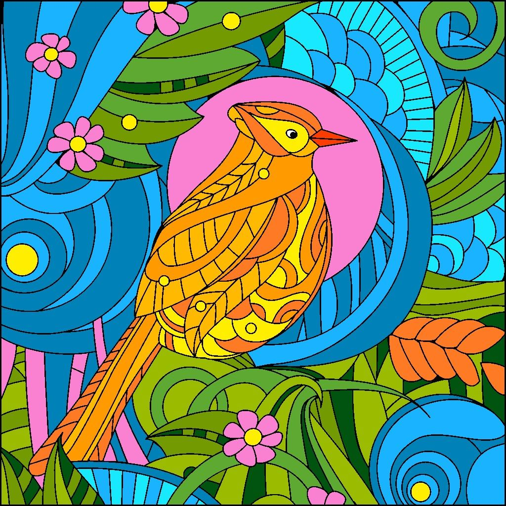 Pin by Judy Willem on Color by Number | Coloring book app ...