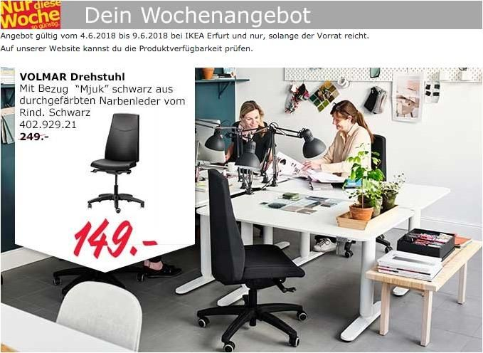 IKEA VOLMAR Drehstuhl