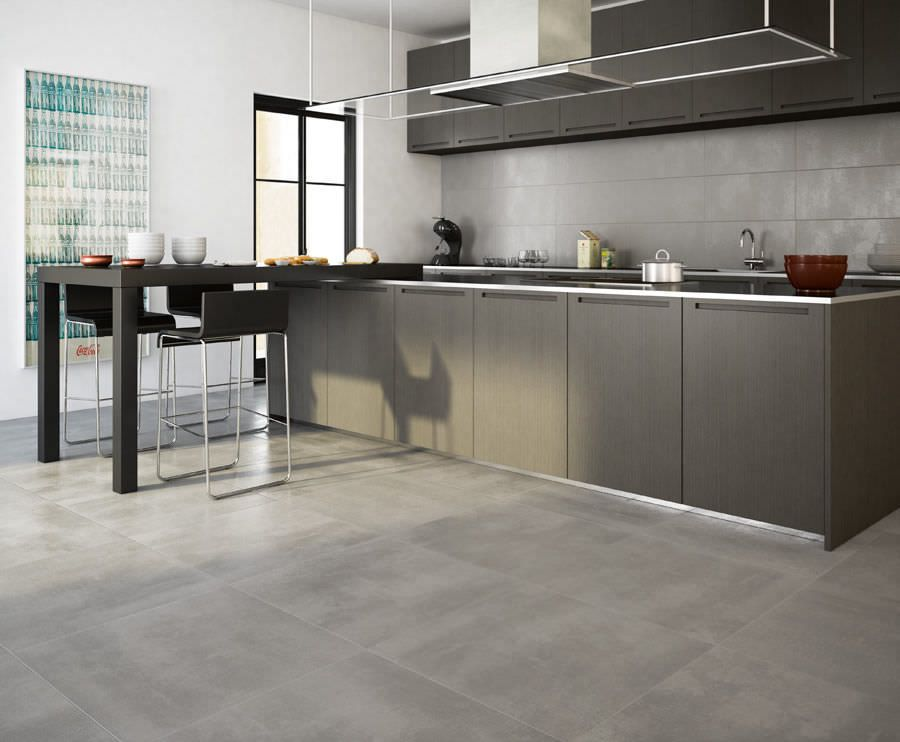 Fliese für Innenbereich / Küchen / Boden / Feinsteinzeug GREY Ilva ...
