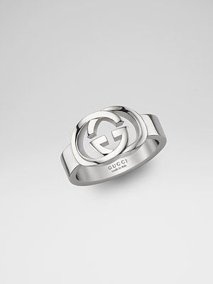 ee473bf75d66cb Gucci Sterling Silver Double G Ring | My Style in 2019 | Gucci ...