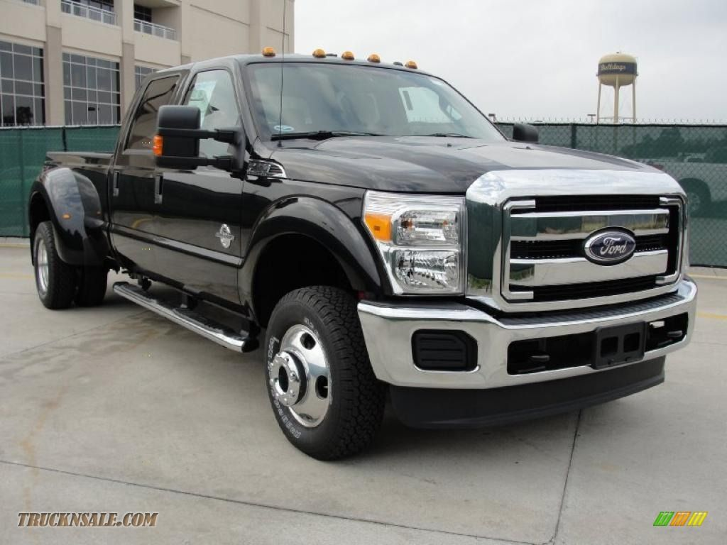 F350 dually 2011 f350 super duty xlt crew cab 4x4 dually tuxedo black