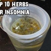 Top 10 Herbs For Insomnia