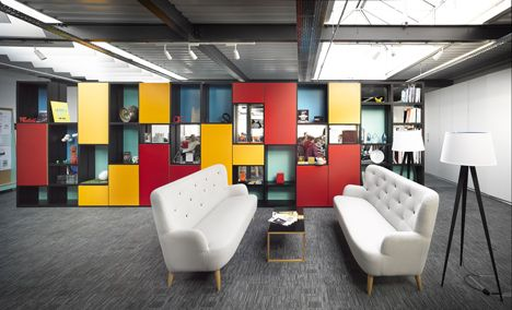 creative office interior. Liverpool Warehouse Converted Into Creative Offices By Snook Architects Office Interior
