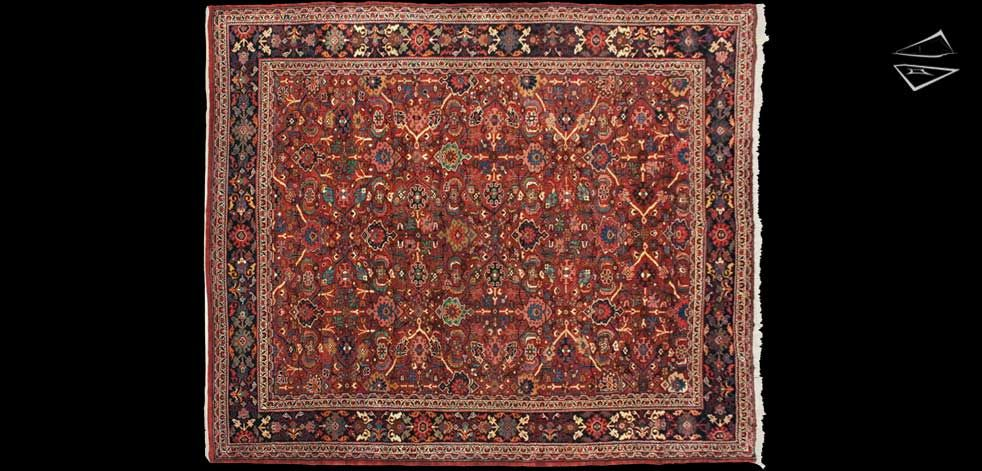 10 12 Persian Mahal Square Rug Square Rugs Rugs Large Rugs