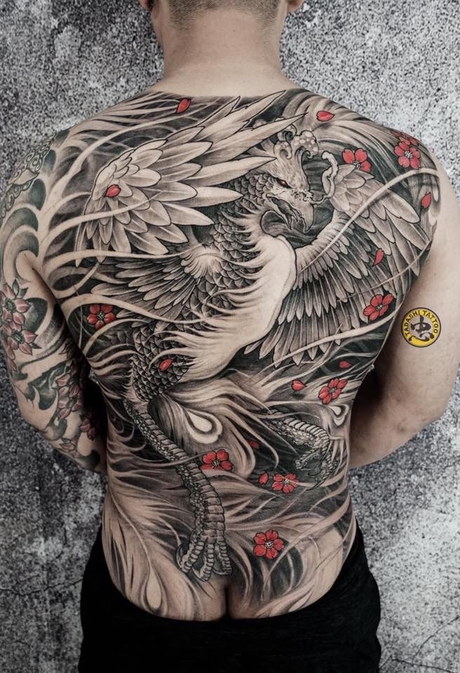 Halfsleevetattoos Irezumitattoos Japanesetattoos Tribaltattoos In 2020 Phoenix Tattoo Tattoo Japanese Style Back Piece Tattoo