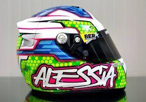 Racing Helmets Garage: Arai SK-6 A.Polita 2015 by TRC Design