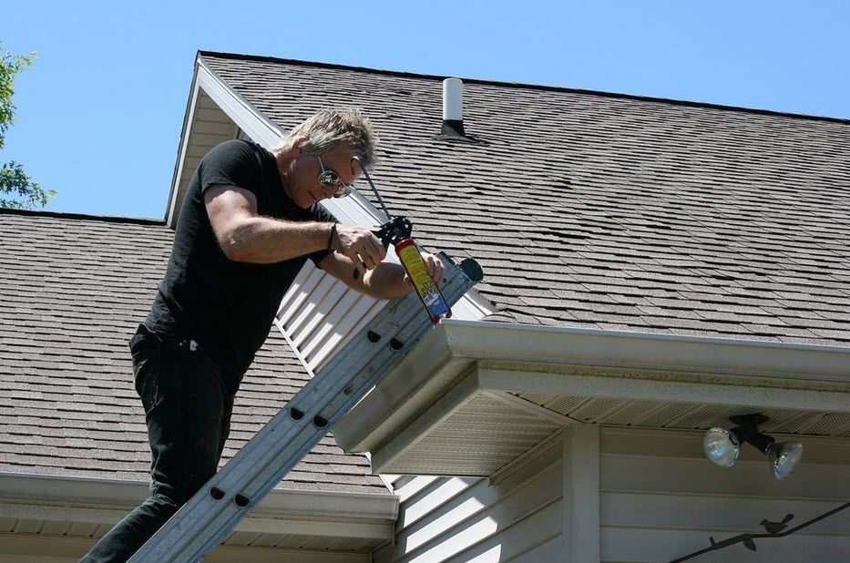 A Gutter Is More Than A Decorative Feature Attached To Your Home First And Foremost The Purpose Of A Gutter Is Fo Gutter Repair Gutters How To Install Gutters