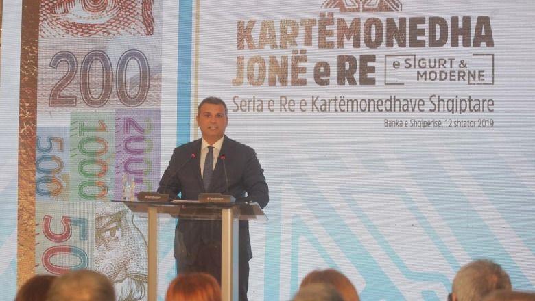 Banka e Shqipërisë prezanton kartmonedhat e reja. Kështu