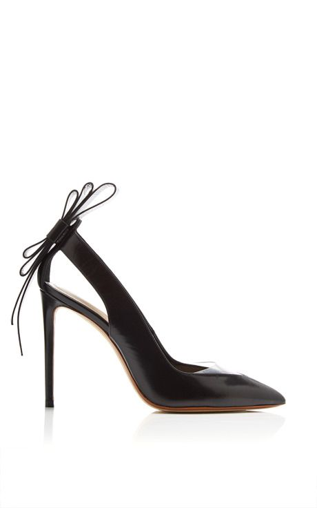 Origami Bow Pump In Black by Nicholas Kirkwood for Preorder on Moda Operandi