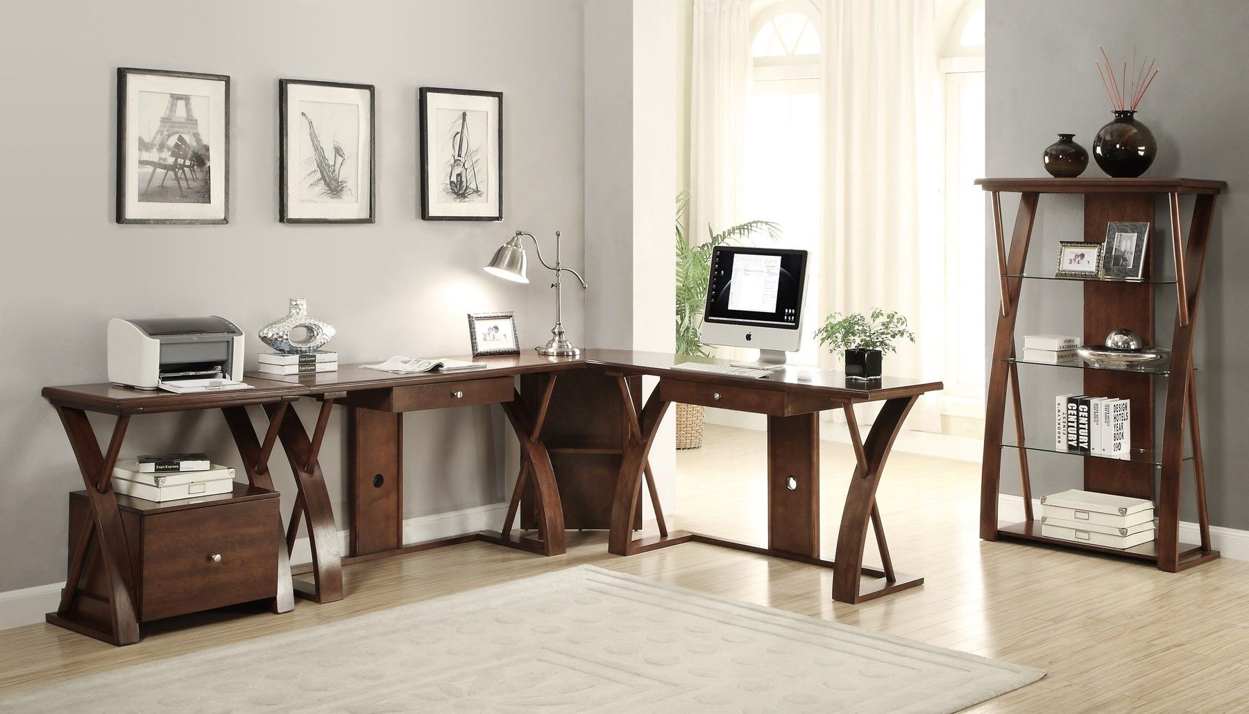 super z dark chocolate home office collection furniture