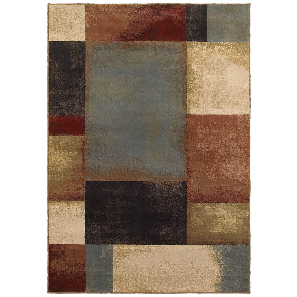 Home Decorators Collection Hayley Multi 4 Ft X 6 Ft Geometric