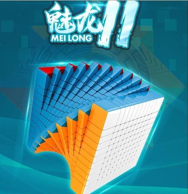 Cubing Classroom Meilong 7x7 STICKERLESS Magic Cube