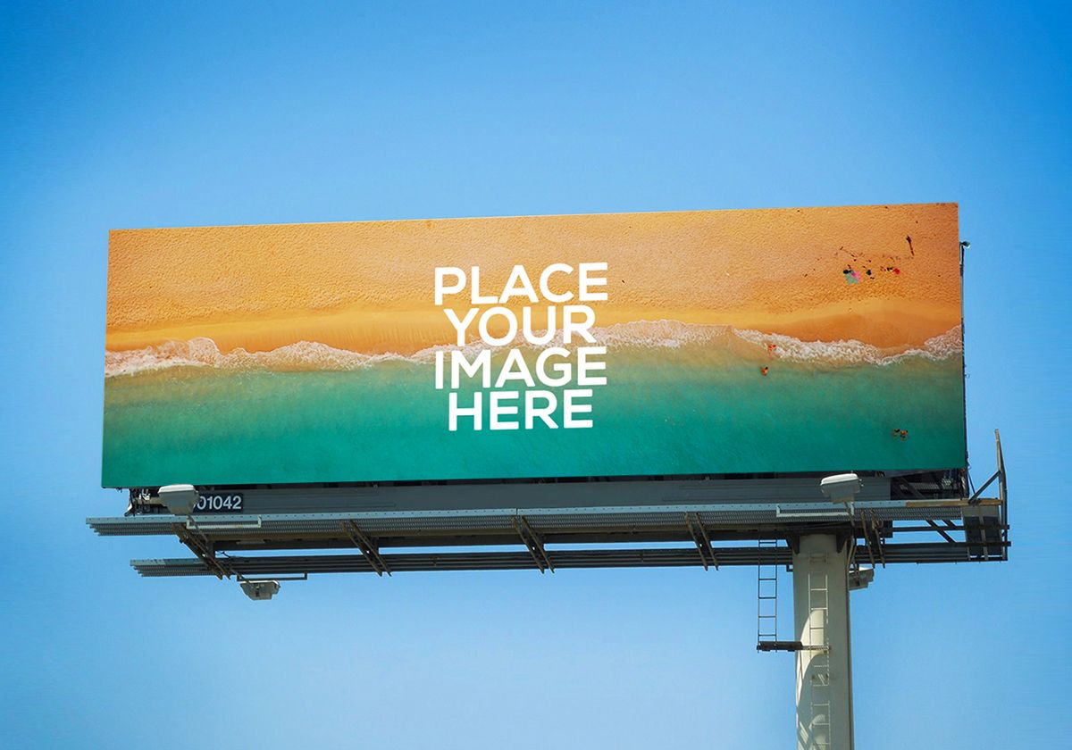 Free 3 Premium Billboards Mockups Graphic Google Tasty Graphic Designs Collection Billboard Mockup Outdoor Advertising Billboard Outdoor Advertising Mockup