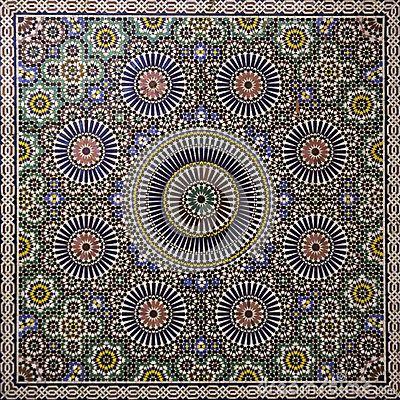 mosa que marocaine motifs et textures mosai. Black Bedroom Furniture Sets. Home Design Ideas