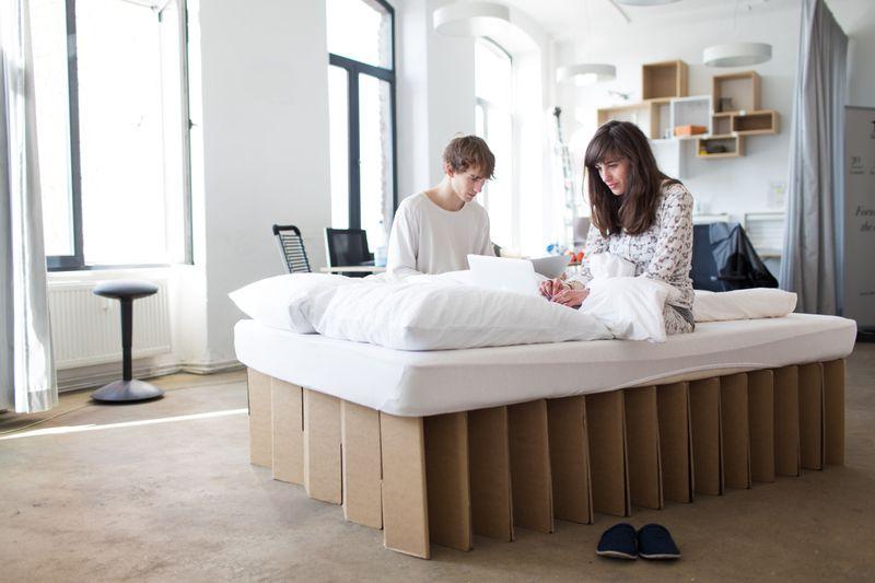 Betten ROOM IN A BOX Das Bett, 200 x 140 x 40 cm ein