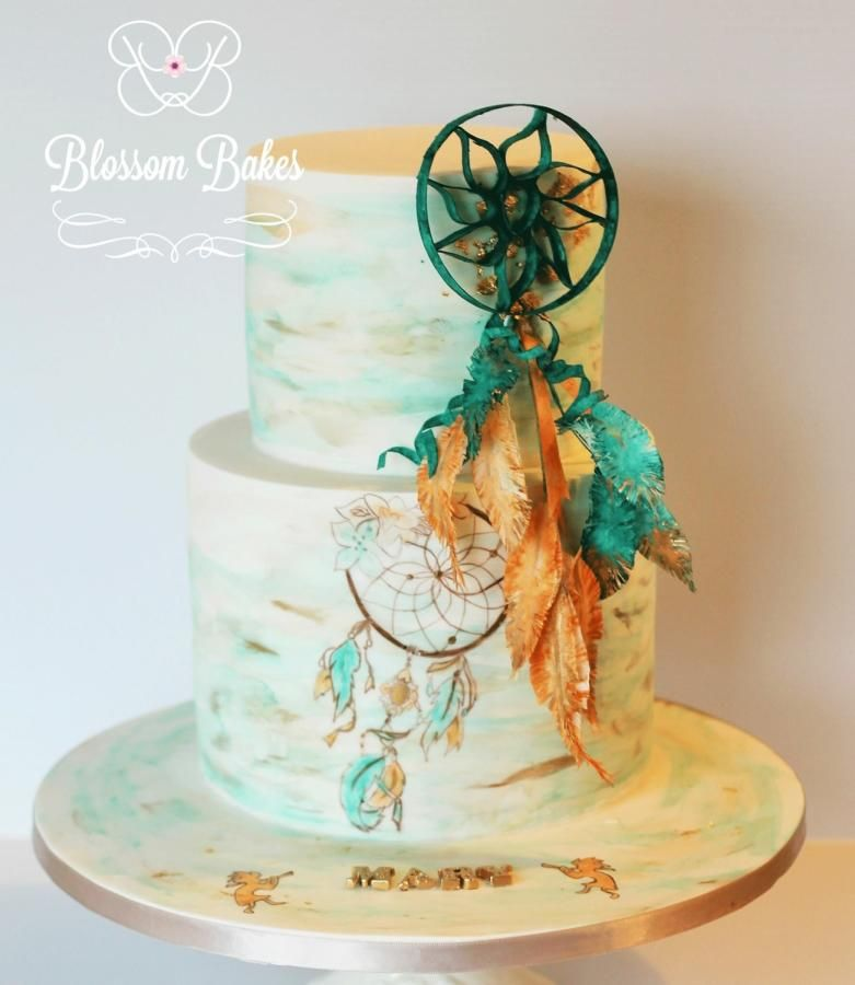 dream catcher wedding cakes dreamcatcher by blossombakes cakes amp cake decorating 13726