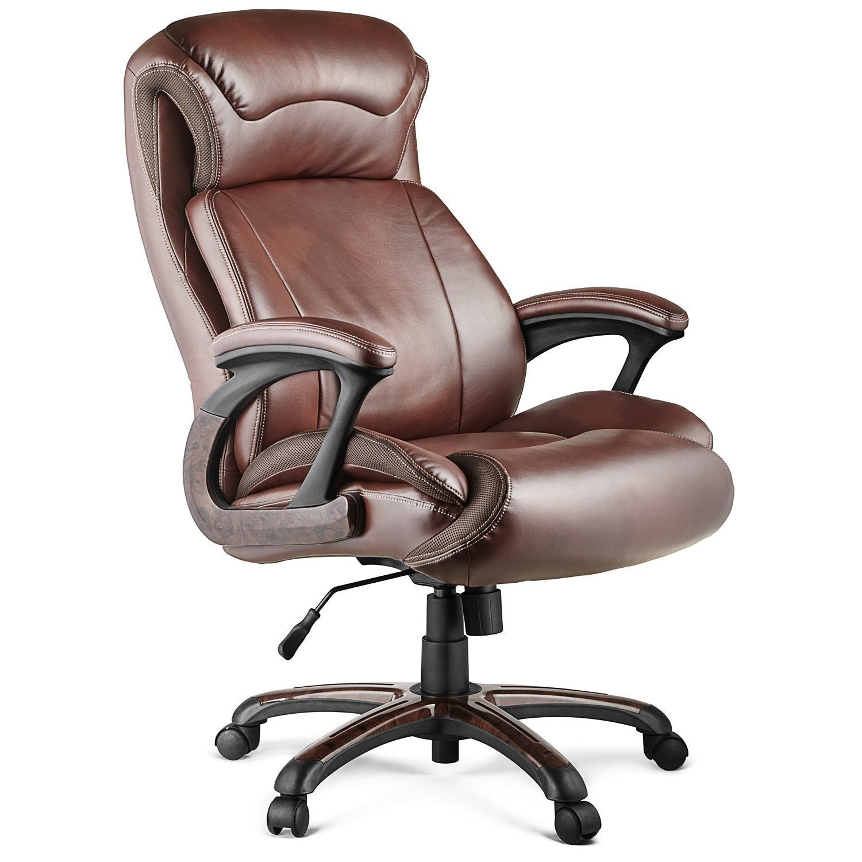 Halter hal009 executive bonded leather office chair bundle